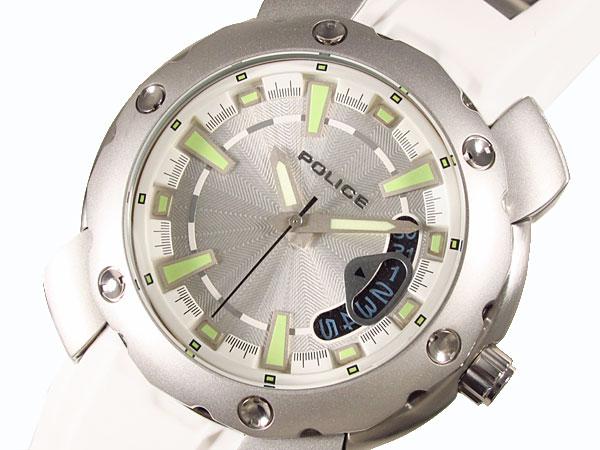 ポリス POLICE 腕時計 シタシオンX メンズ PL.11624JS/04 WH-1