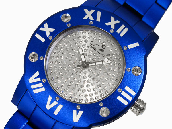 GALLUCCI UNI ガルーチ ユニ 腕時計 アルミ WT23451QZ-BL-1