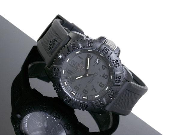 ルミノックス LUMINOX ネイビーシールズ ダイバーズ スイス製 腕時計 3051BO ブラック ラバーベルト-2