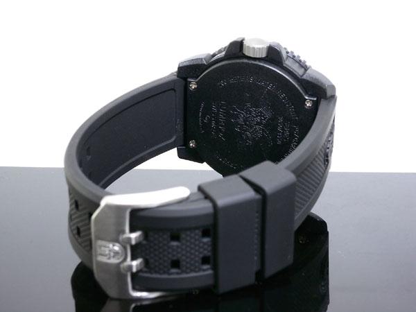 ルミノックス LUMINOX ネイビーシールズ ダイバーズ スイス製 腕時計 3051BO ブラック ラバーベルト-3