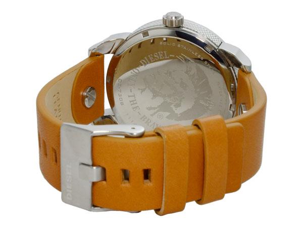 ディーゼル DIESEL デュアルタイム ブラウンレザーベルト 腕時計 メンズ DZ7308 ブルー-3
