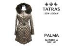 TATRAS Tatras 2014-2015 winter new PALMA Womens hooded fur down jacket LTA15A4399 MOCHA 03