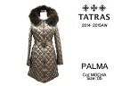 TATRAS Tatras 2014-2015 winter new PALMA Womens hooded fur down jacket LTA15A4399 MOCHA 05