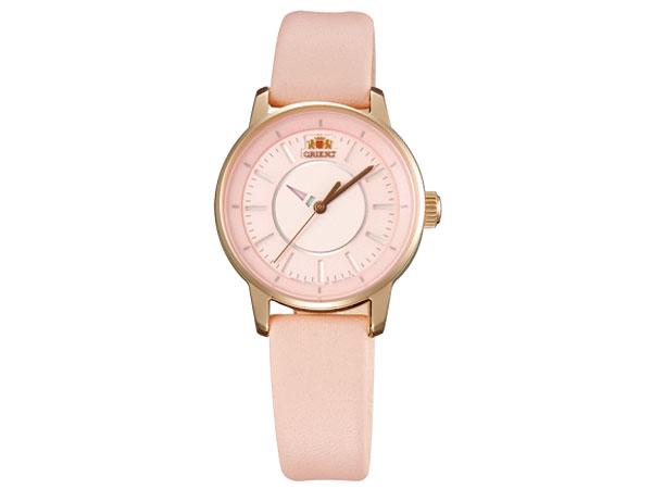 オリエント ORIENT 自動巻き レディース 腕時計 WV0031NB ゴールド×ピンク レザーベルト-1