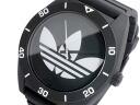 Adidas ADIDAS Santiago XL quartz watch ADH2967 White x black rubber belt mens