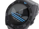 Adidas ADIDAS Santiago XL quartz watch ADH2968 blue x black grey rubber belt mens