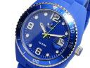 Adidas ADIDAS Brisbane quartz watch ADH6161 blue rubber belt mens Womens