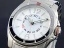 Tommy Hilfiger TOMMY HILFIGER quartz men's watch 1781138 White x silver metal belt