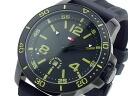 Tommy Hilfiger TOMMY HILFIGER quartz men's watch 1790847 black x green rubber belt