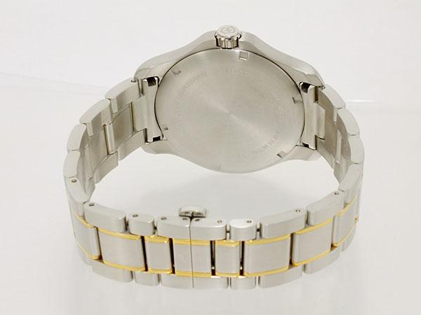 ビクトリノックス VICTORINOX スイス製 クオーツ メンズ 腕時計 241362 ホワイト ゴールド×シルバー メタルベルト-3