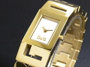D & G Dolce & Gabbana SHOUT shout ladies watch DW0290 gold metal belt bracelet