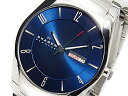 Skagen in SKAGEN quartz men's watch SKW6033 blue / silver metal belt