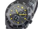 Timex TIMEX quartz chronograph men's watch T2N866 Black × Yellow