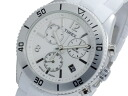 Timex TIMEX quartz chronograph men's watch T2N868 White x silver