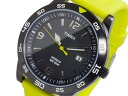 Timex TIMEX quartz men's watch T2P136 Black × Yellow Rubber belt
