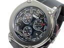 Timex TIMEX Ironman chronograph quartz men's watch T5K354 silver x black rubber belt