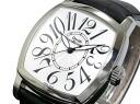 Danielyanrichard JEANRICHARD automatic self-winding men's watch 24006.01.148A.00 White x black leather belt