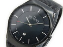 Skagen in SKAGEN watch ultra slim mesh belt quartz 956 XLTBB mens black
