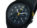 Brown BRAUN chronograph quartz men's watch BN0115BKBKBKG black rubber belt