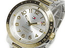 Tommy Hilfiger TOMMY HILFIGER mens watch 1781398 gold / silver metal belt