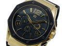Tommy Hilfiger TOMMY HILFIGER mens watch 1790911 black x Gold rubber belt
