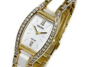Seiko SEIKO international model solar ceramic ladies watch SUP224 white × gold metal belt bracelet