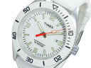 Timex TIMEX quartz watch T2N533 White Rubber belt mens Womens unisex