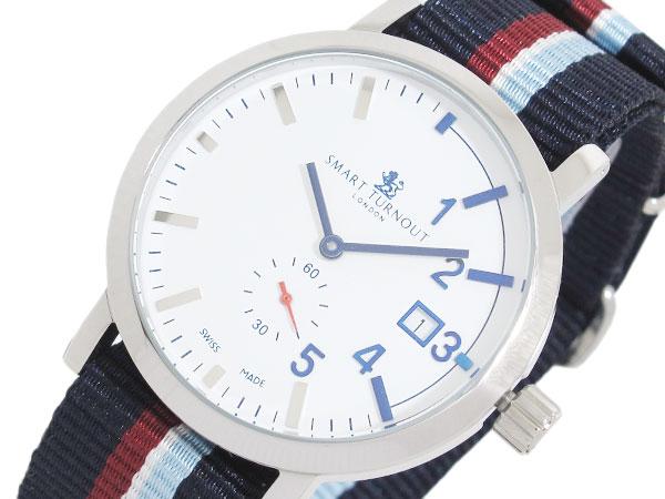 スマートターンアウト SMART TURNOUT 40mm スイス製 腕時計 STC1-NS20 メンズ レディース-1