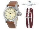 Replaced the smart turn out SMART TURNOUT 38 mm strap watch STJ-003BE HARV/20 men women