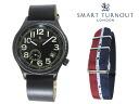 Replaced the smart turn out SMART TURNOUT 41 mm strap watch STJ-007BKBK RAF/20 men women
