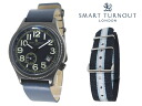 Replaced the smart turn out SMART TURNOUT 41 mm strap watch STJ-007BKNV RO/20 men women