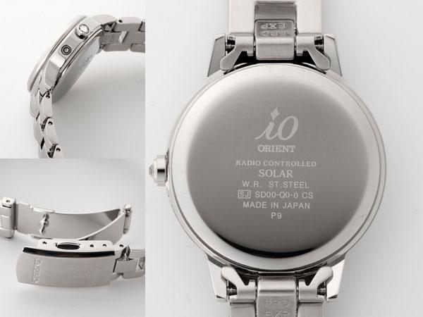 オリエント ORIENT iO イオ レディース 腕時計 電波時計 ソーラー WI0011SD-2