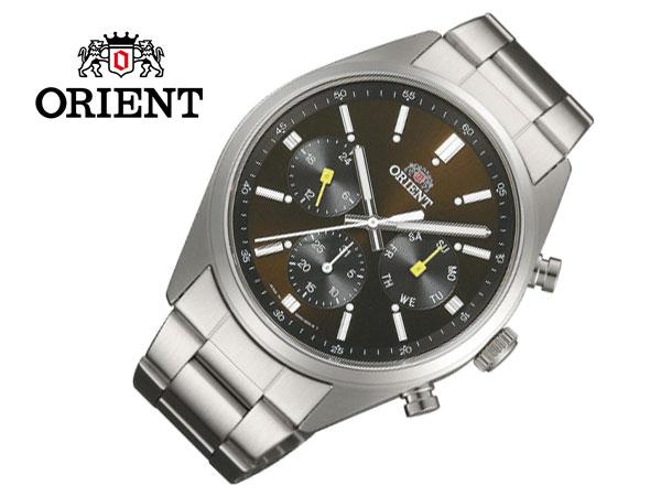 オリエント ORIENT ネオセブンティーズ パンダ メンズ 腕時計 クロノグラフ WV0041UZ-1