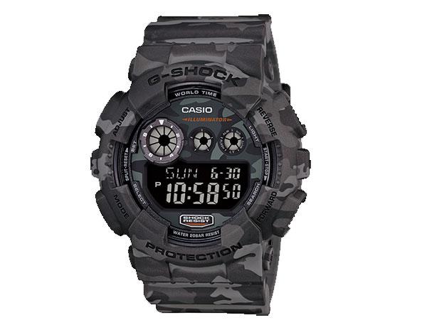 カシオ CASIO Gショック G-SHOCK 逆輸入 デジタル カモフラージュ メンズ 腕時計 GD-120CM-8 迷彩柄-1
