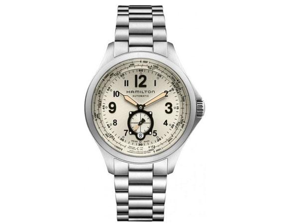 ハミルトン HAMILTON カーキ アビエイション 自動巻き メンズ 腕時計 H76655123-1