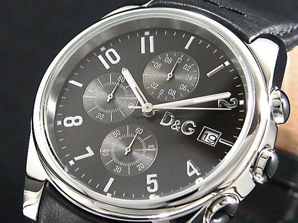 D&G ドルチェ&ガッバーナ 腕時計 クロノグラフ サンドパイパー 3719770097-1