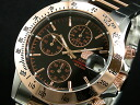 Elgin ELGIN wristwatch chronograph mens FK1184PG-B