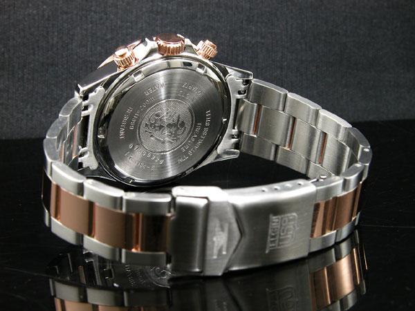エルジン ELGIN 腕時計 クロノグラフ メンズ FK1184PG-B-3