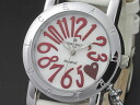 DOLCE AMORE amore Dolce heart 1 P diamond ladies watch AD12302-SVWH leather belt