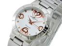 DOLCE AMORE amore Dolce heart 1 P diamond ladies watch AD13306-SSWH bracelet metal