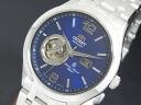 Orient ORIENT CLASSIC classic automatic mens watch FDB05001D0 blue / silver metal belt