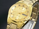 Seiko SEIKO 5 5 foreign models made in Japan Women's automatic watch SYMJ42J1 gold metal bracelet