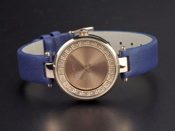 Guy Laroche ギラロッシュ クオーツ レディース 腕時計 L1007-05 ピンクゴールド×ブルー レザーベルト-2
