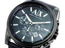 Armani Exchange and ARMANI EXCHANGE chronograph men's watch AX2098 black leather Albertina g.