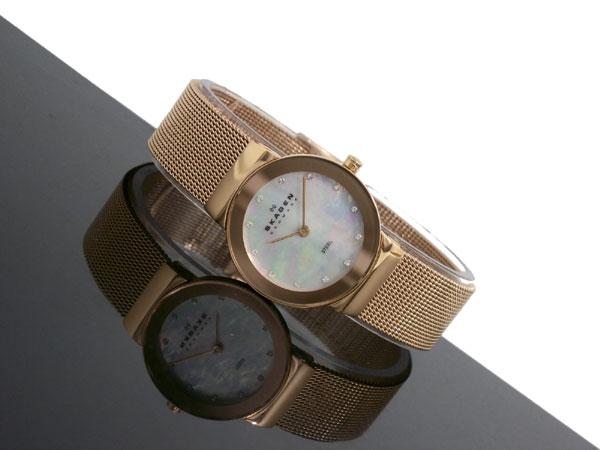 スカーゲン SKAGEN 腕時計 レディース 358SRRD ピンクゴールド-2