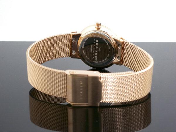 スカーゲン SKAGEN 腕時計 レディース 358SRRD ピンクゴールド-3