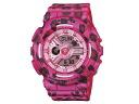 Casio CASIO baby G baby-g overseas models an analog-digital watch BA-110LP-4A ladies Leopard Leopard pattern pink