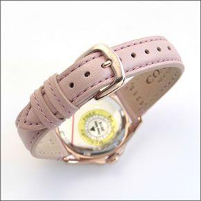 コーチ 煌びやかなラインストーンとホワイトシェルダイヤルの輝き。ラグジュアリーなレディス腕時計。 14502176-3