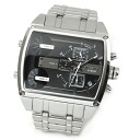 Diesel men's watches popular DECA series chronographwatch 3 Time display DZ7324