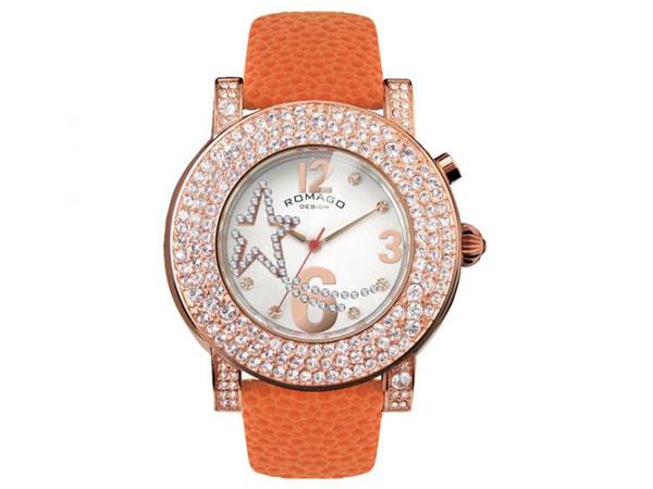 ロマゴ デザイン ROMAGO DESIGN 腕時計 レディース RM013-1607ST-OR-1
